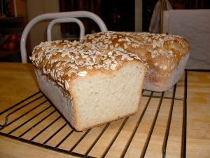 Oatmeal Maple Bread