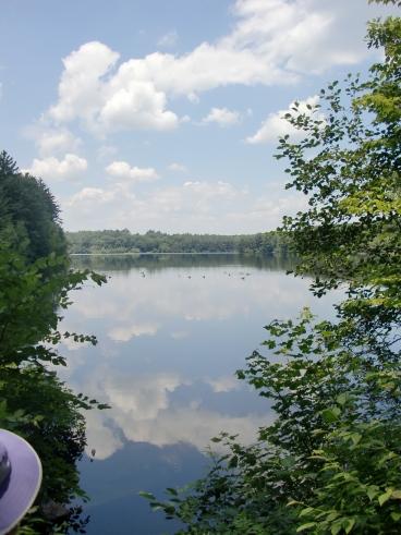 Gates Pond, Berlin, Massachusetts (5 July 2011)