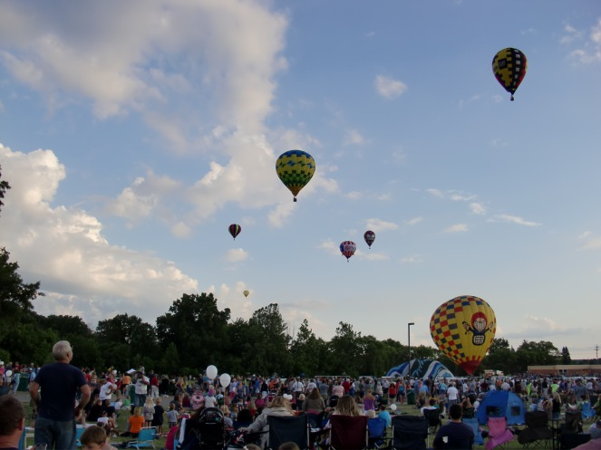 Howell, MI, Balloon Fest