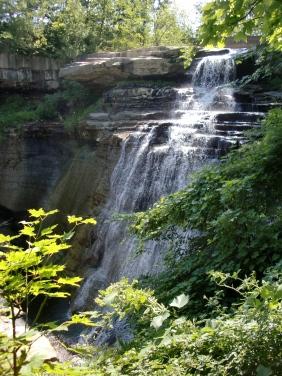 Brandywine Falls, Ohio.