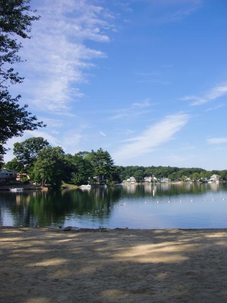 Summer morning at the lake.