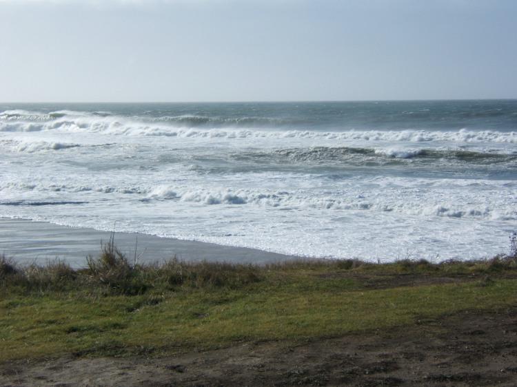 Cowell Ranch Beach near Half Moon Bay, California