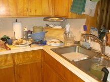 8 pm: Dishes