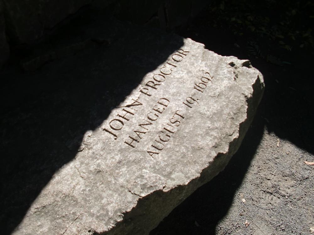 Witch Trials Memorial, Salem, Massachusetts