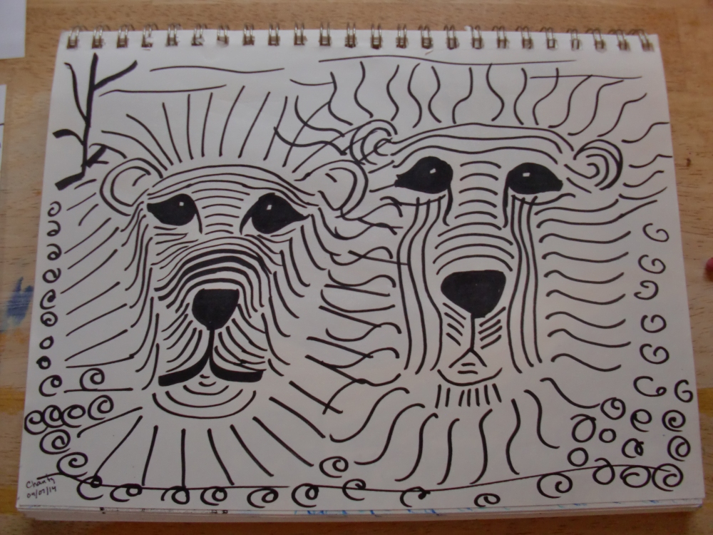 My lions.